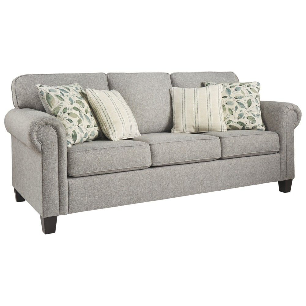 Best Alandari Queen Sofa Sleeper Gray Signature Design By 400 x 300