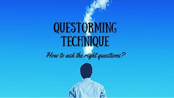 Questorming Technique Is Usually Used To Define The Problem And Then Continue With A Brainstorming Technique World Finance This Or That Questions Techniques