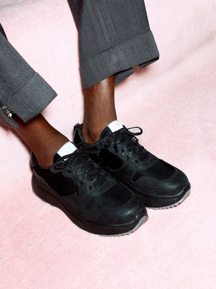 Eytys Jet Combo | All black sneakers