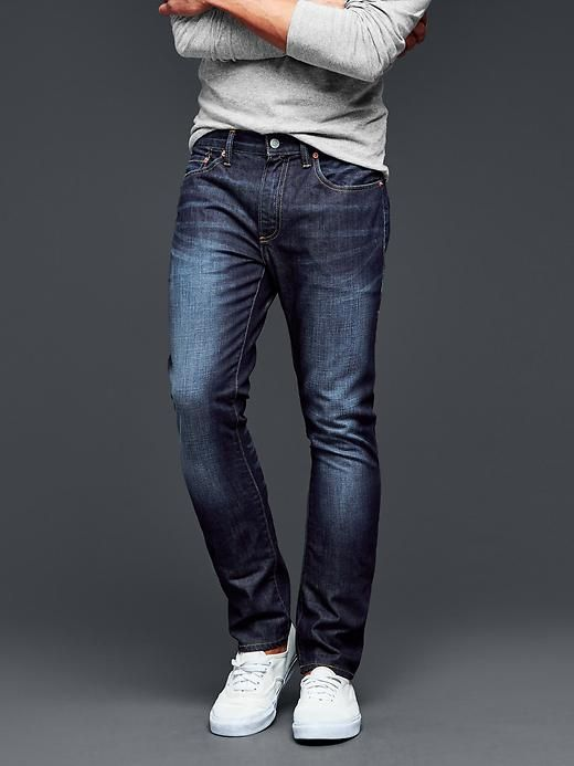 1969 skinny fit jeans (soft scrape dark indigo wash)