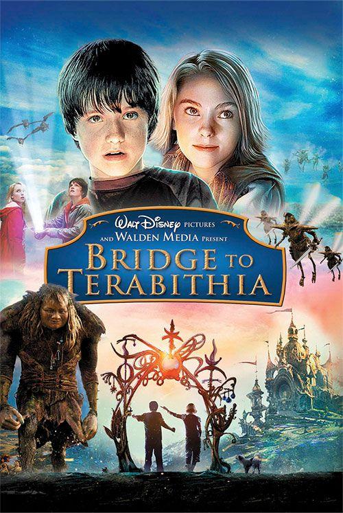Bridge To Terabithia Peliculas Cine Peliculas De Comedia Peliculas Fantasia