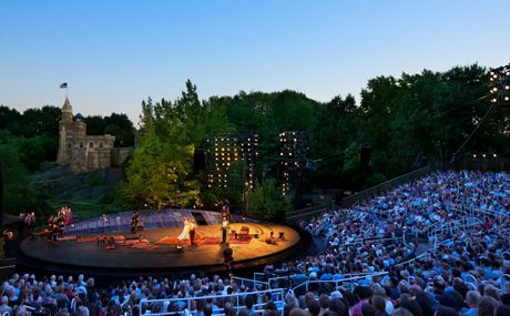 New York City Central Park – Shakespeare in the Park