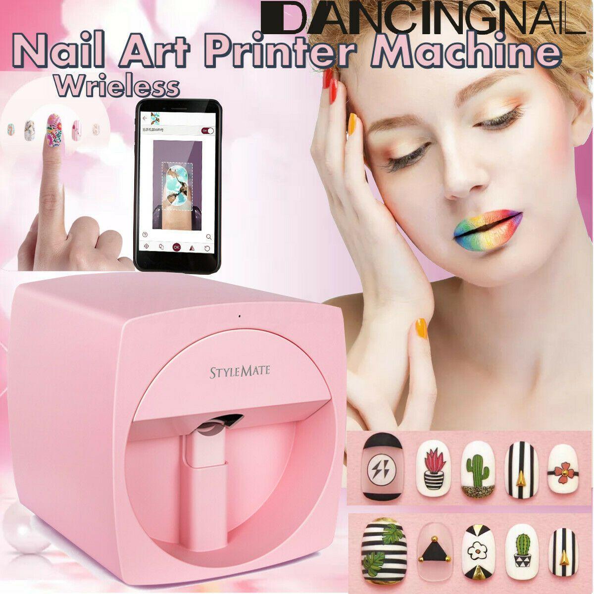 O2nails Stylemate Nail Art Printer X11 Print Any Photo Via Iphone