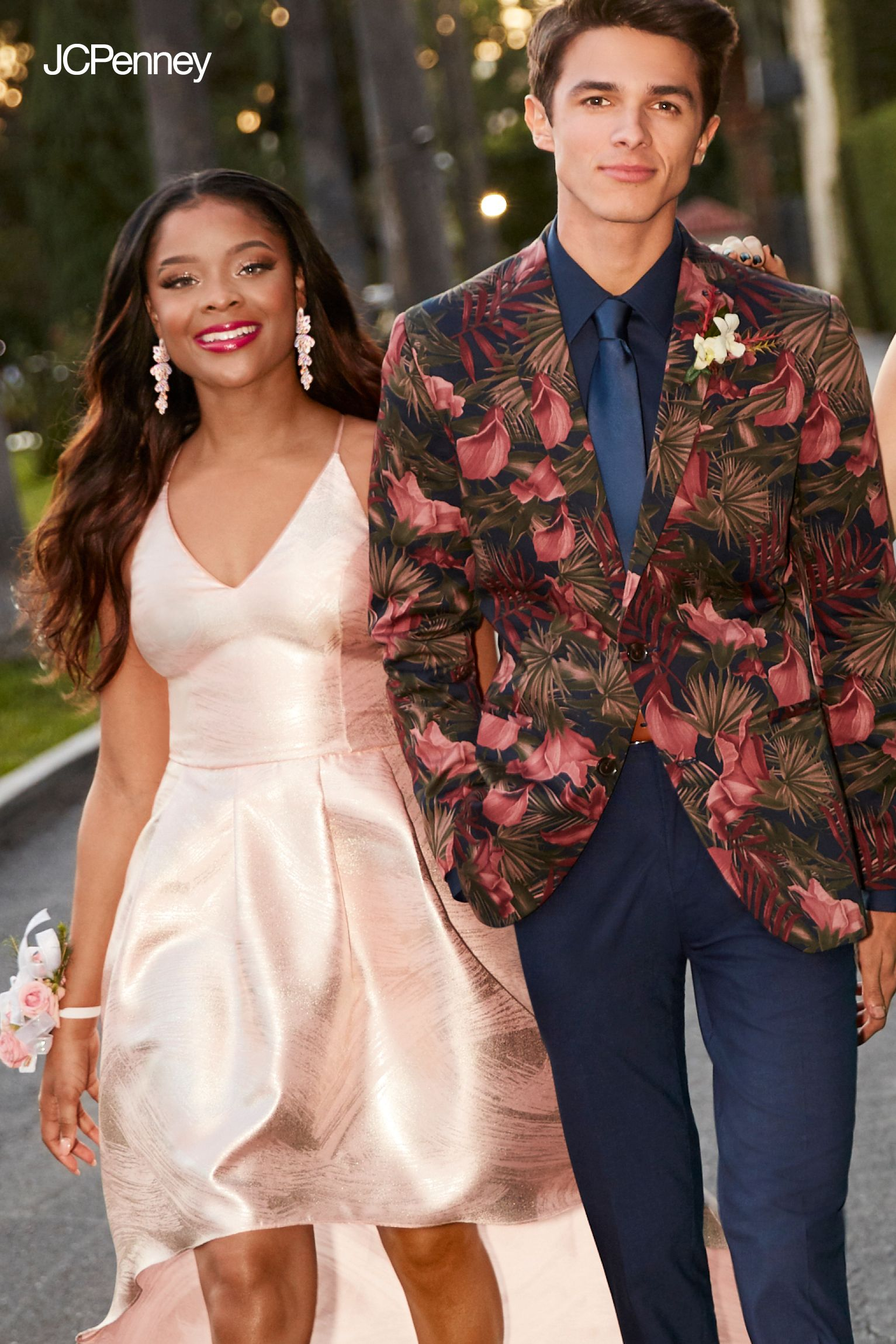 9bd1187f4e5 Shop JCPenney s prom shop for looks worthy of the red carpet. We ve got  everyting from elegant prom dresses to guys  jackets