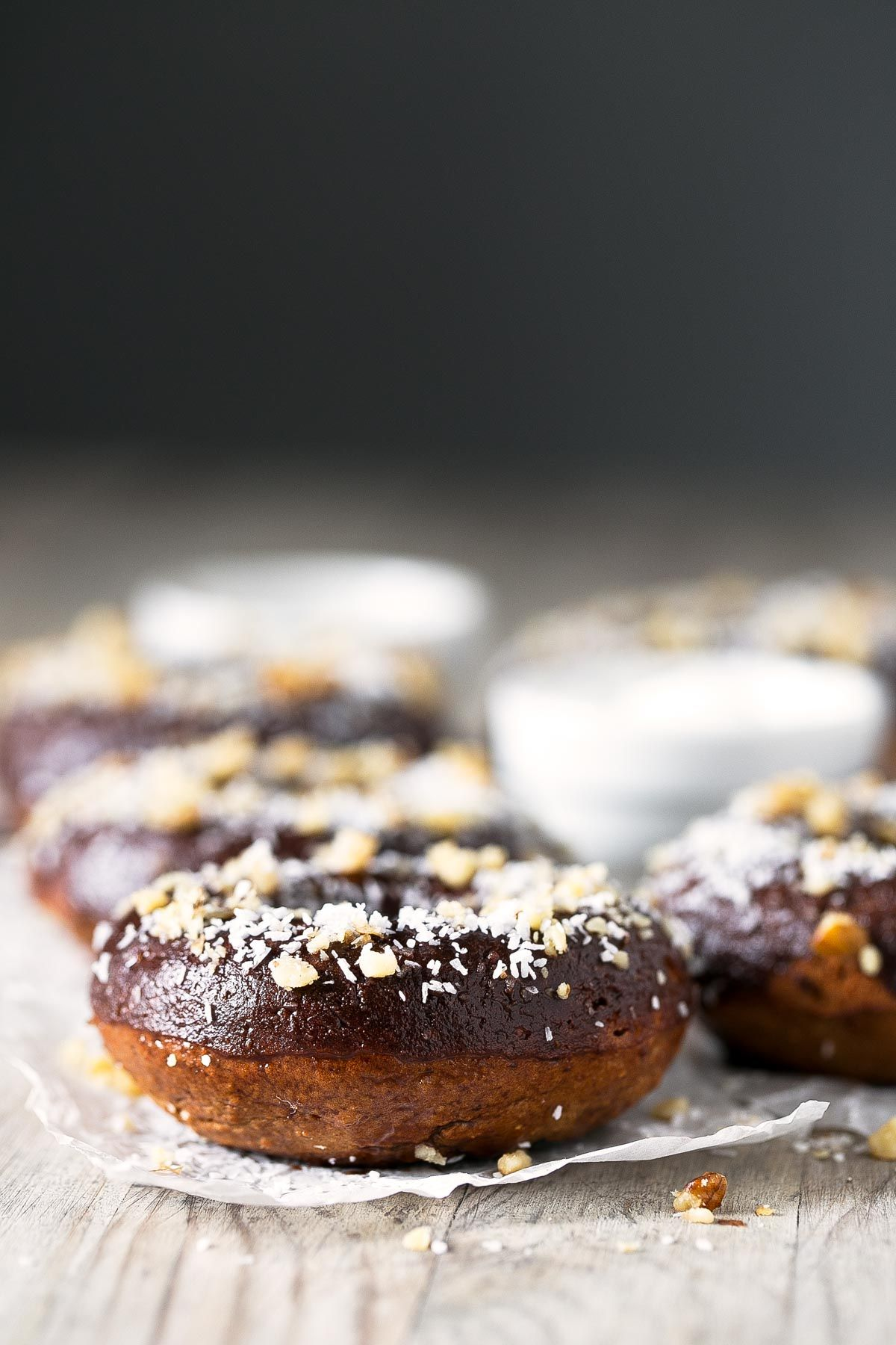 Donuts Veganos Saludables Recipe Vegan Gluten Free Donuts Vegan Donuts Gluten Free Vegan Donut Recipe