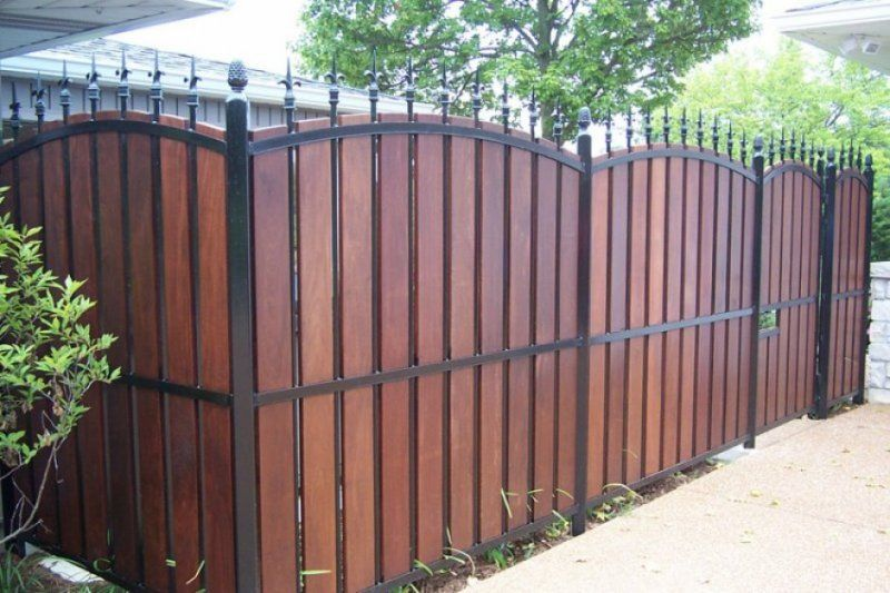 Ornamental Iron Fence Aluminum Fence Pool Fence Privacy Fence Landscaping Privacy Fence Designs Fence Design