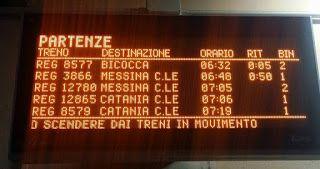 Ritardi e soppressioni con i nuovi orari | Comitato Pendolari Siciliani