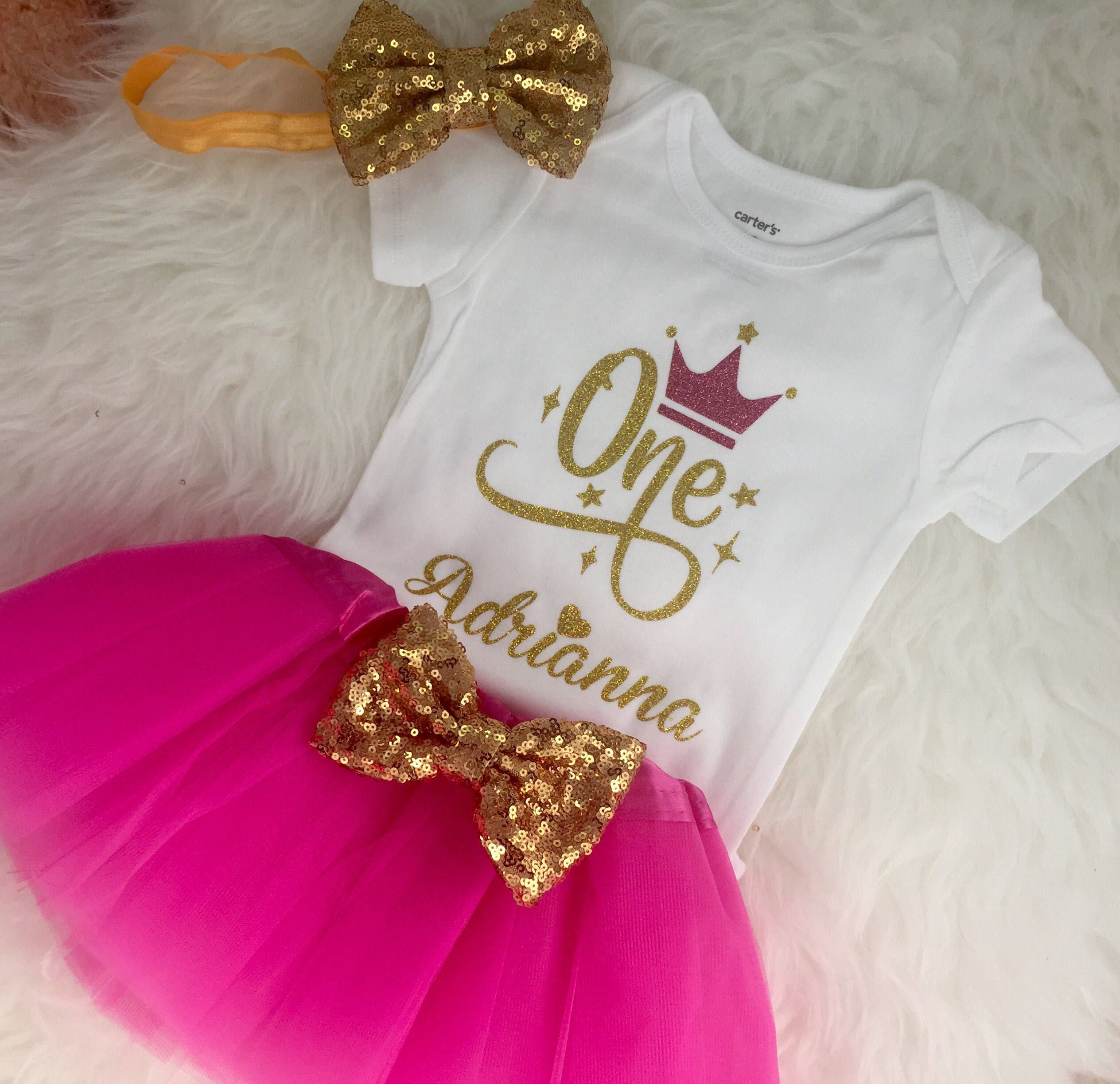 First birthday outfit Twinkle twinkle little star One year old