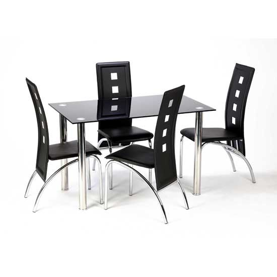 Black Glass Tables new chairs for dinning room | john | pinterest | black glass
