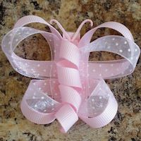 Butterfly bow tutorial