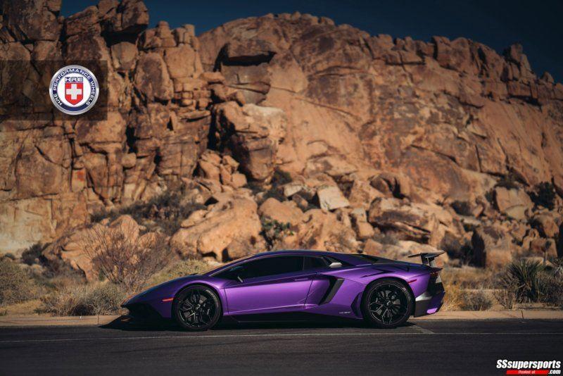Gallery Purple Lamborghini Aventador Sv On Hre Wheels Passionate