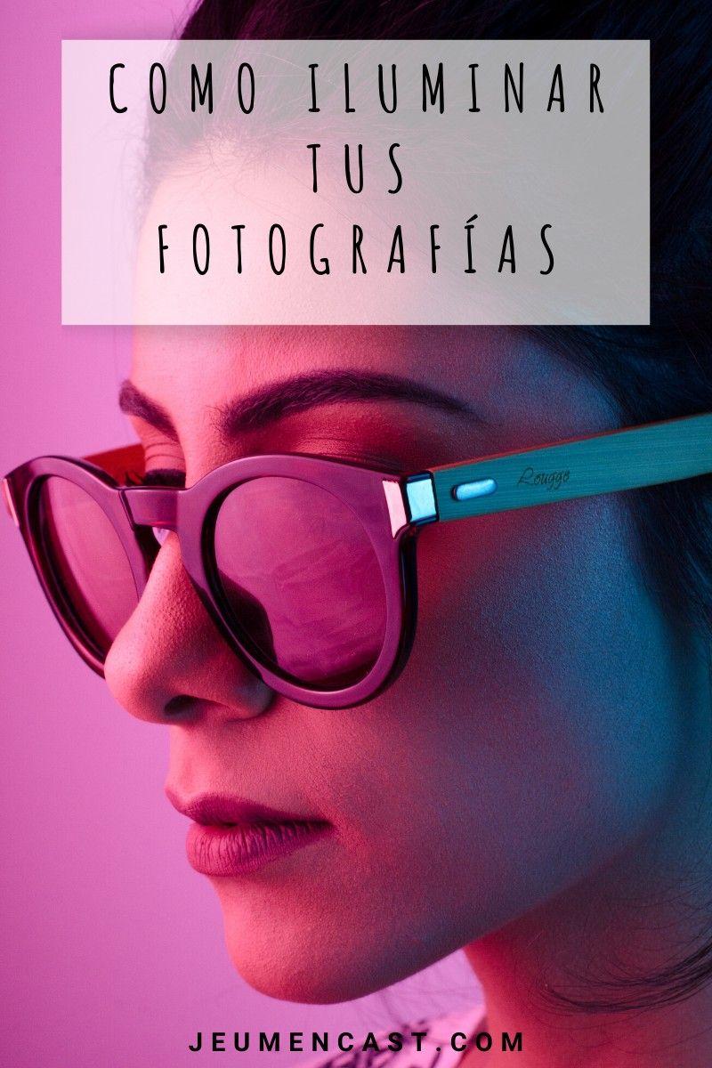 Aprende como iluminar tus fotografías creativamente #iluminacion #creativa #fotografia