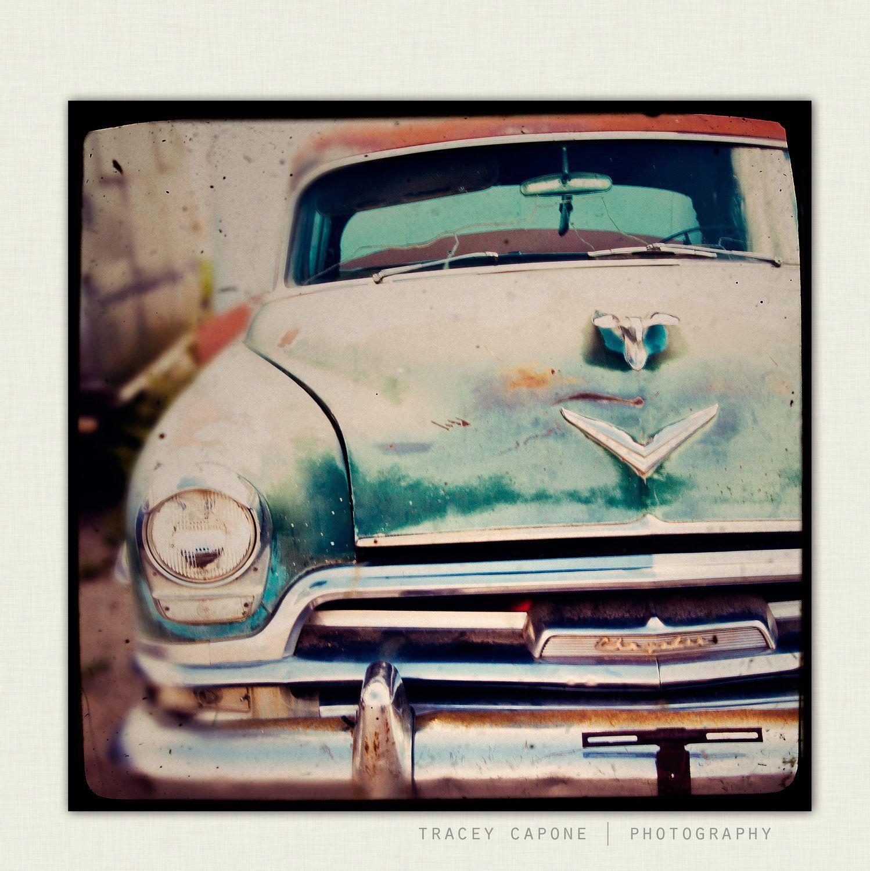 Vintage Car - boys room wall art, retro car photography - Betty Sue ...
