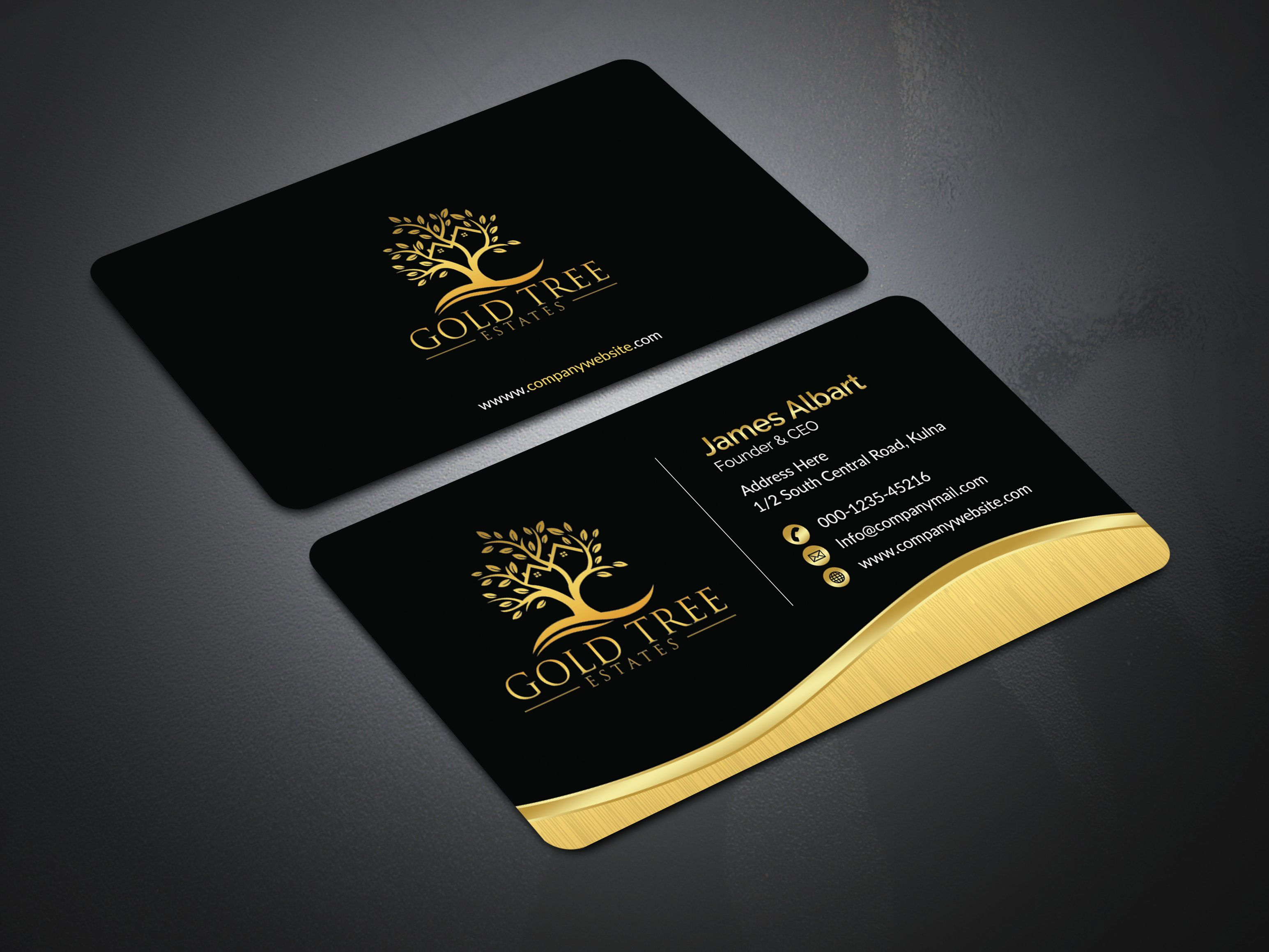 Design Pack I Will Design 4 Professional Business Card Concept Within 24 Hour For 5 On Fiverr Com Modern Business Cards Professional Business Cards Unique Business Cards