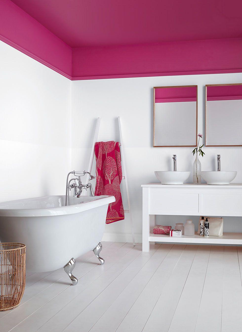 Best Pink Paint Color For Bathroom