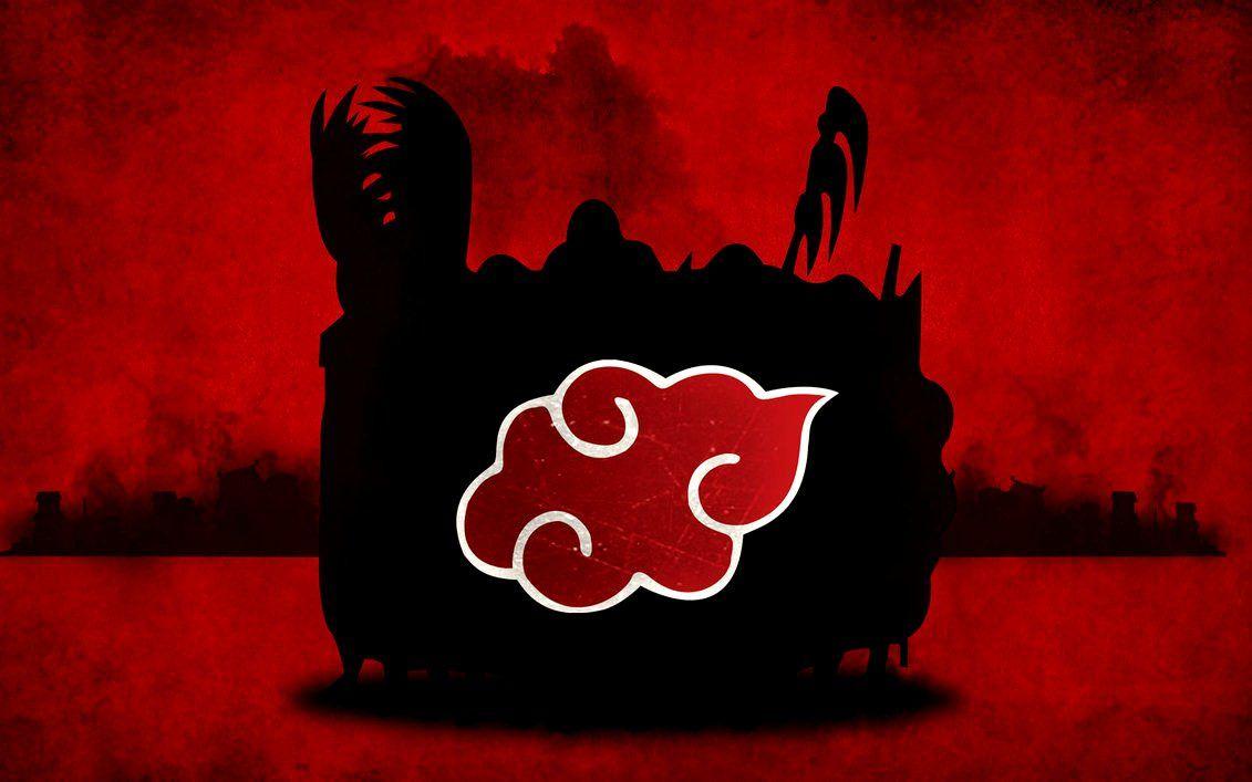 Akatsuki Red Cloud Symbol Anime Naruto Fotos