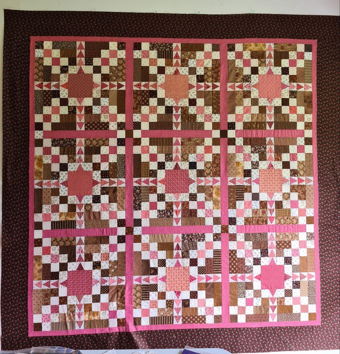Mystery Quilt From Adelaide Quilt Guild In 2020 Quilt Guild Mystery Quilt Scrap Quilts