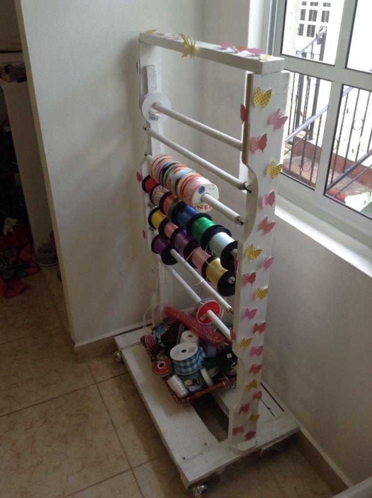 Mueble para listones reciclado ,,,Ravedena | Reciclado | Pinterest ...