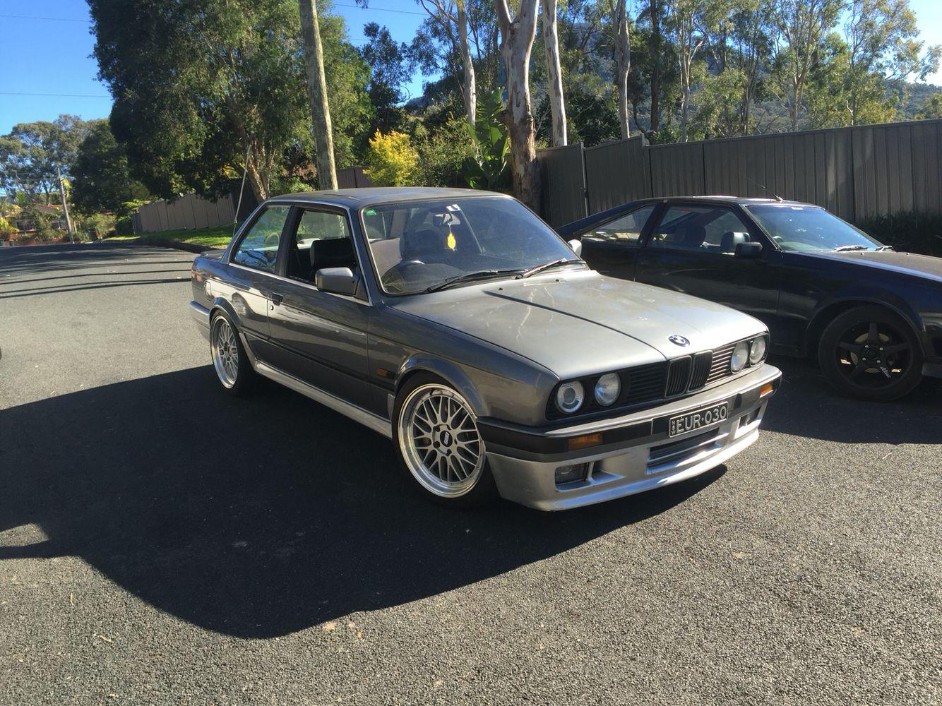 "1990 BMW E30 M54 18"" BBS LM Bmw Classic Pinterest"