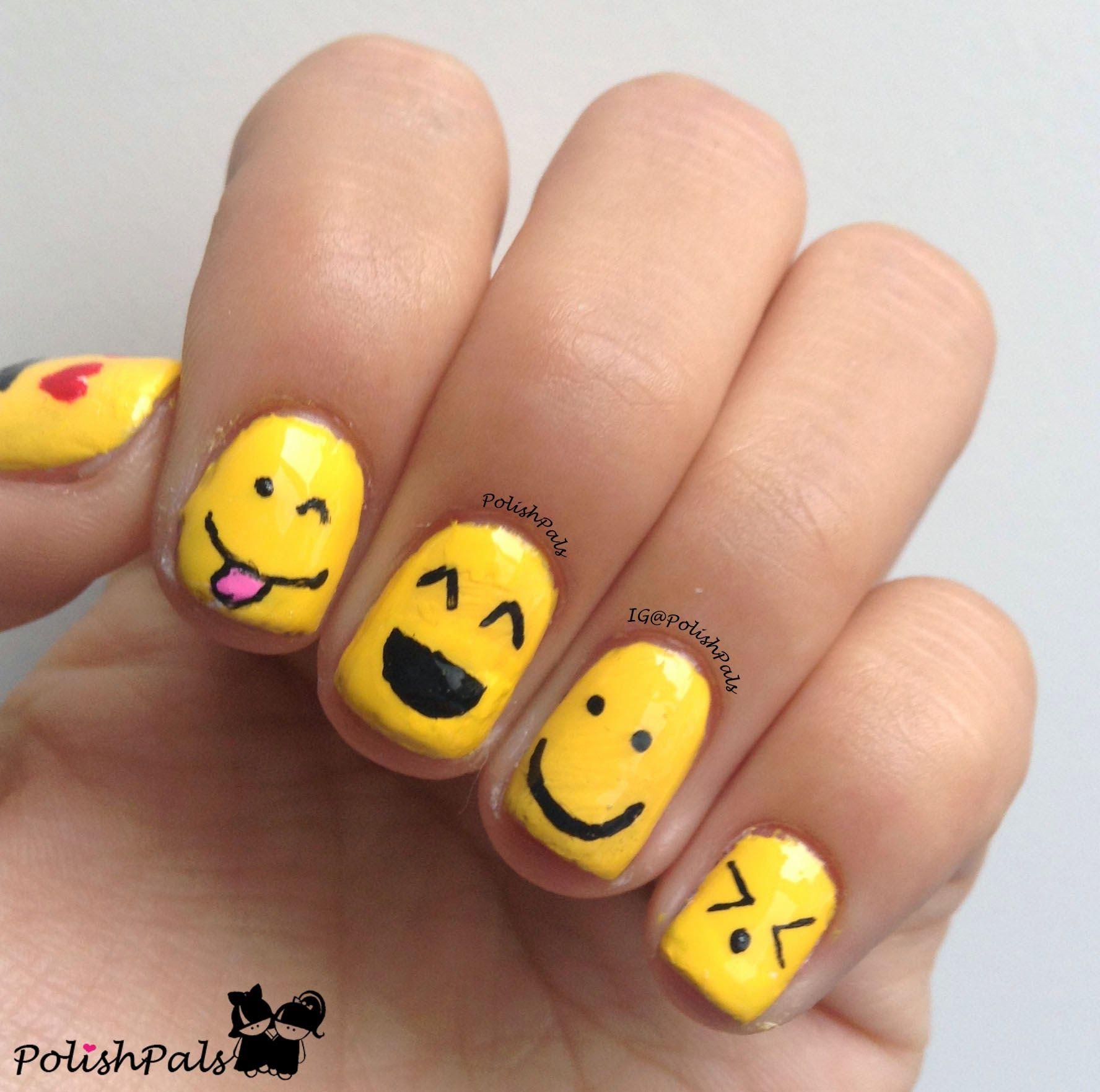 Smiley Face Nail Designs Nail Designs Smiley Face Kids Nail Designs Smiley