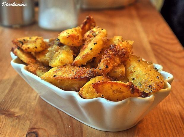 Knusprige Knoblauch-Kartoffeln #kartoffelnofen