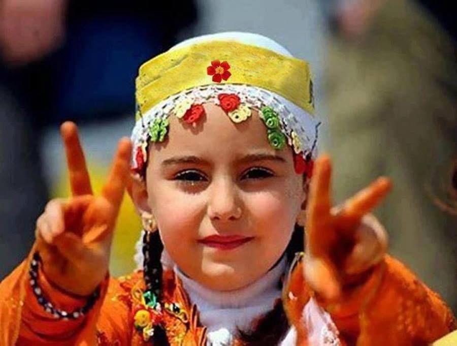 Cute little angel from Kashmir.