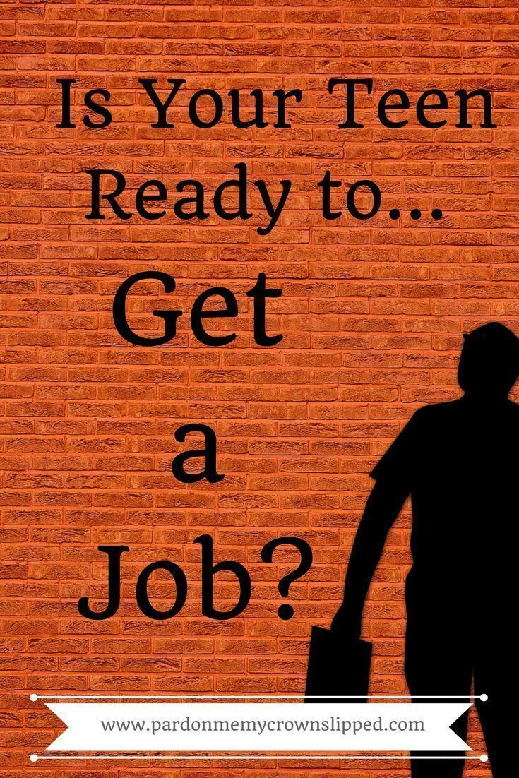 how to find a job for a teenager
