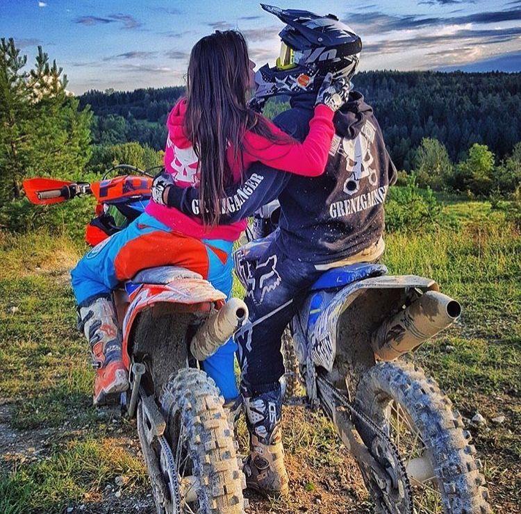 One Of Many Goals Motocross Love Dirt Bike Girl Motocross Couple