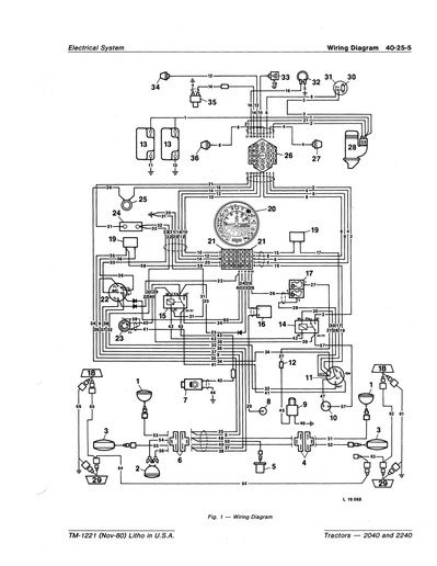 john deere 2240 wiring diagram easy to read wiring diagrams u2022 rh mywiringdiagram today John Deere Gator Parts Diagram John Deere Gator Parts Diagram