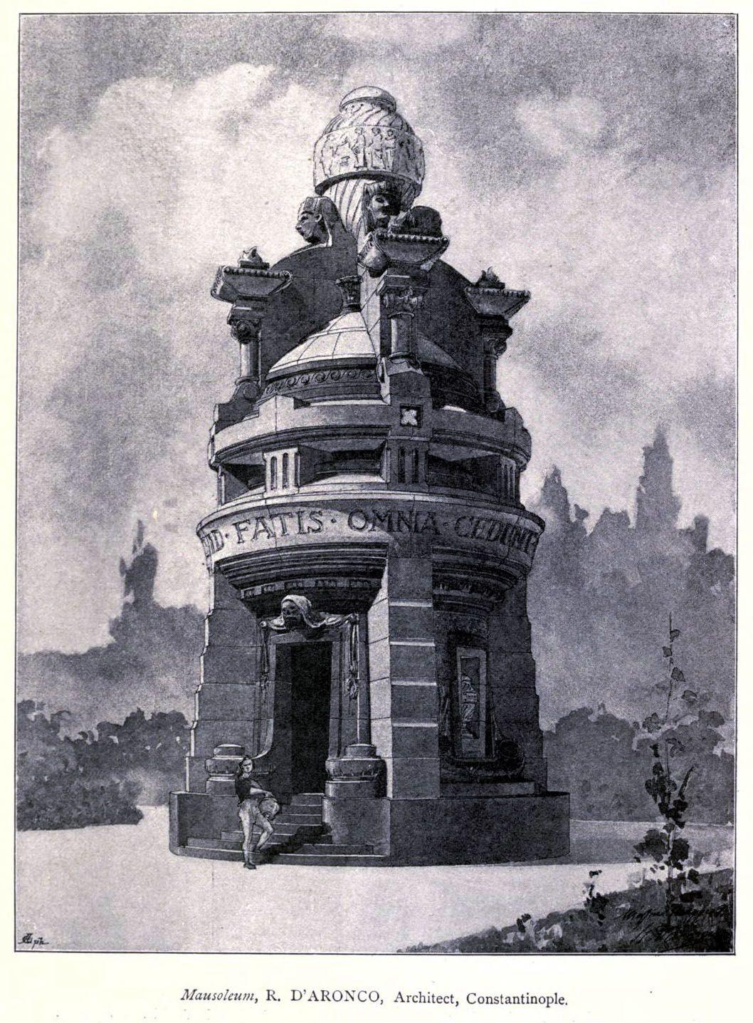 Design for a mausoleum
