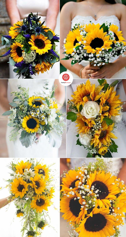 50+ Inspirational Sunflower Wedding Ideas for 2019Bold