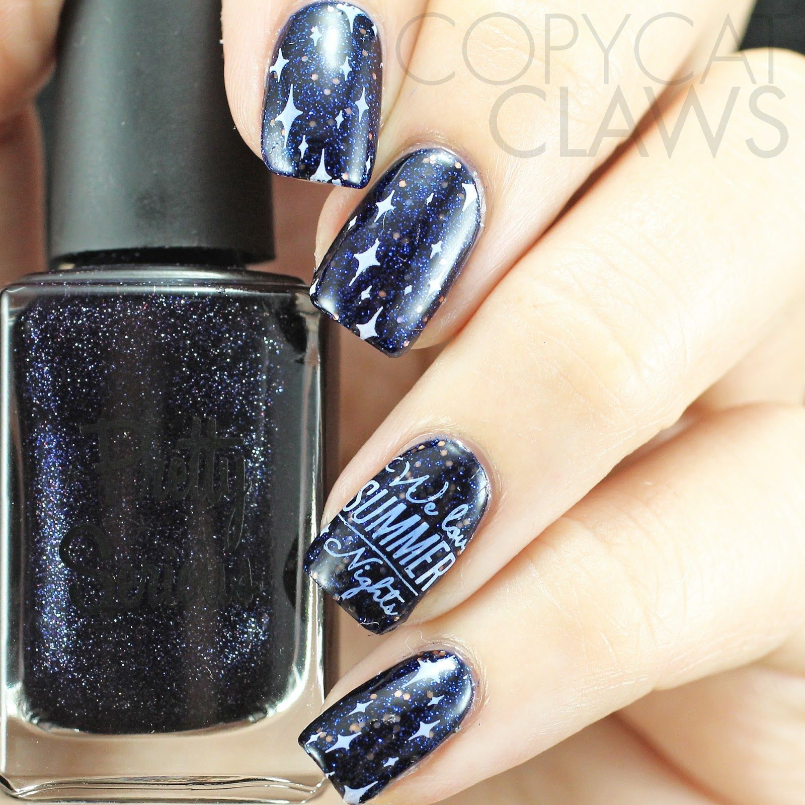 Copycat Claws: HPB Presents Summer Night Sky Nail Art | Christmas ...
