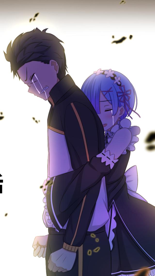 Resultado De Imagen Para Re Zero Subaru Wallpaper Re Zero Wallpaper Anime
