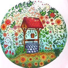 раскраска антистресс таинственный сад: 11 тыс изображений ...