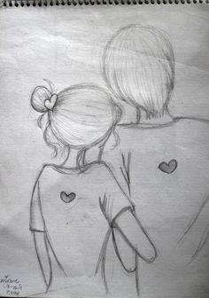 pencil sketches of couples in love - Google Search