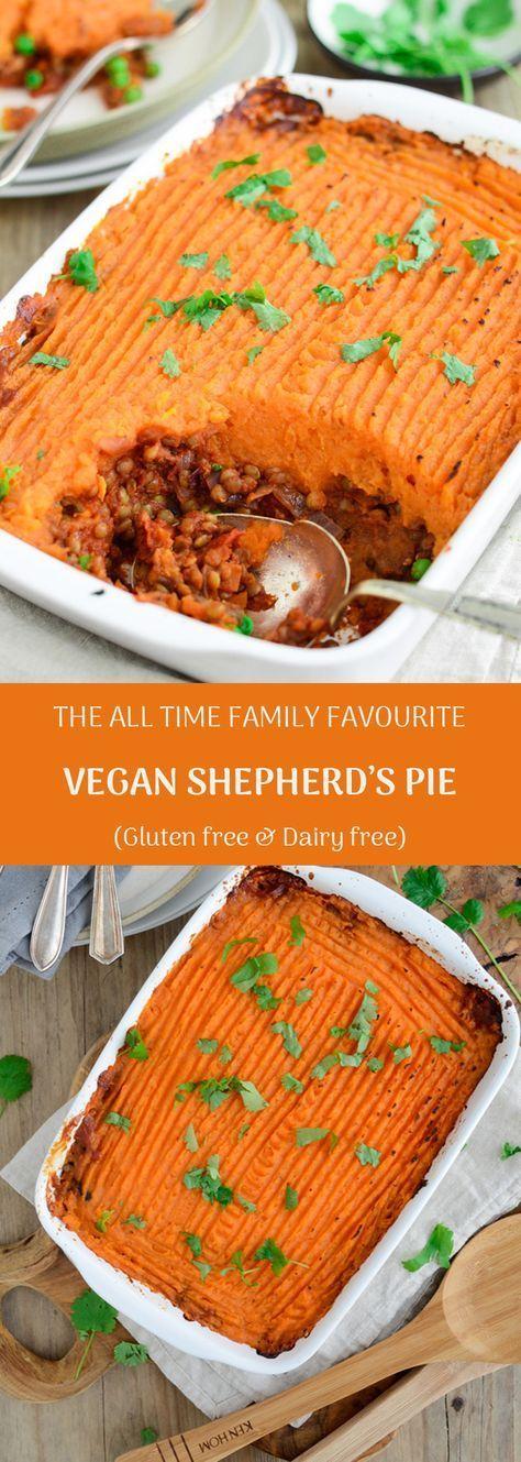 The All Time Family Favourite Vegan Shepherds Pie Gluten Dairy Free