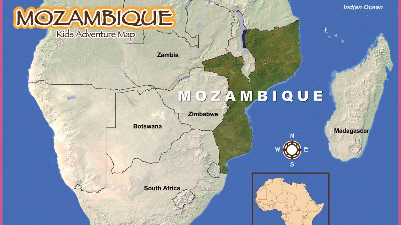 Mozambique map missions love pinterest africa mozambique map gumiabroncs Images