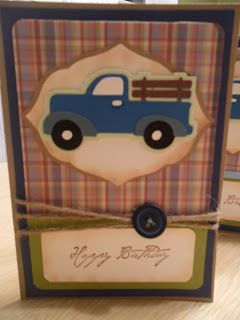 Just Because Cards Old fashioned Truck Card