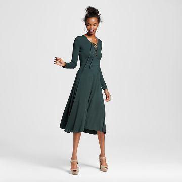 3826b8e9237 Women s Lace-up Midi Dress - Xhilaration™ (Juniors )