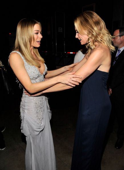 EXCLUSIVE COVERAGE LeAnn Rimes and Faith Hill attends 2011 MusiCares Person of the Year Tribute to Barbra Streisand at Los Angeles Convention Center...