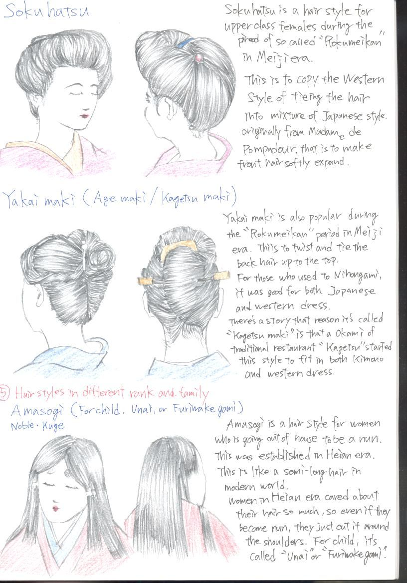 I M Sick Of Seeing Pieces Related To Nihongami The Anese Traditional Hair Style Such As Samurai Geisha Geiko Maiko That Are Visually And Structur