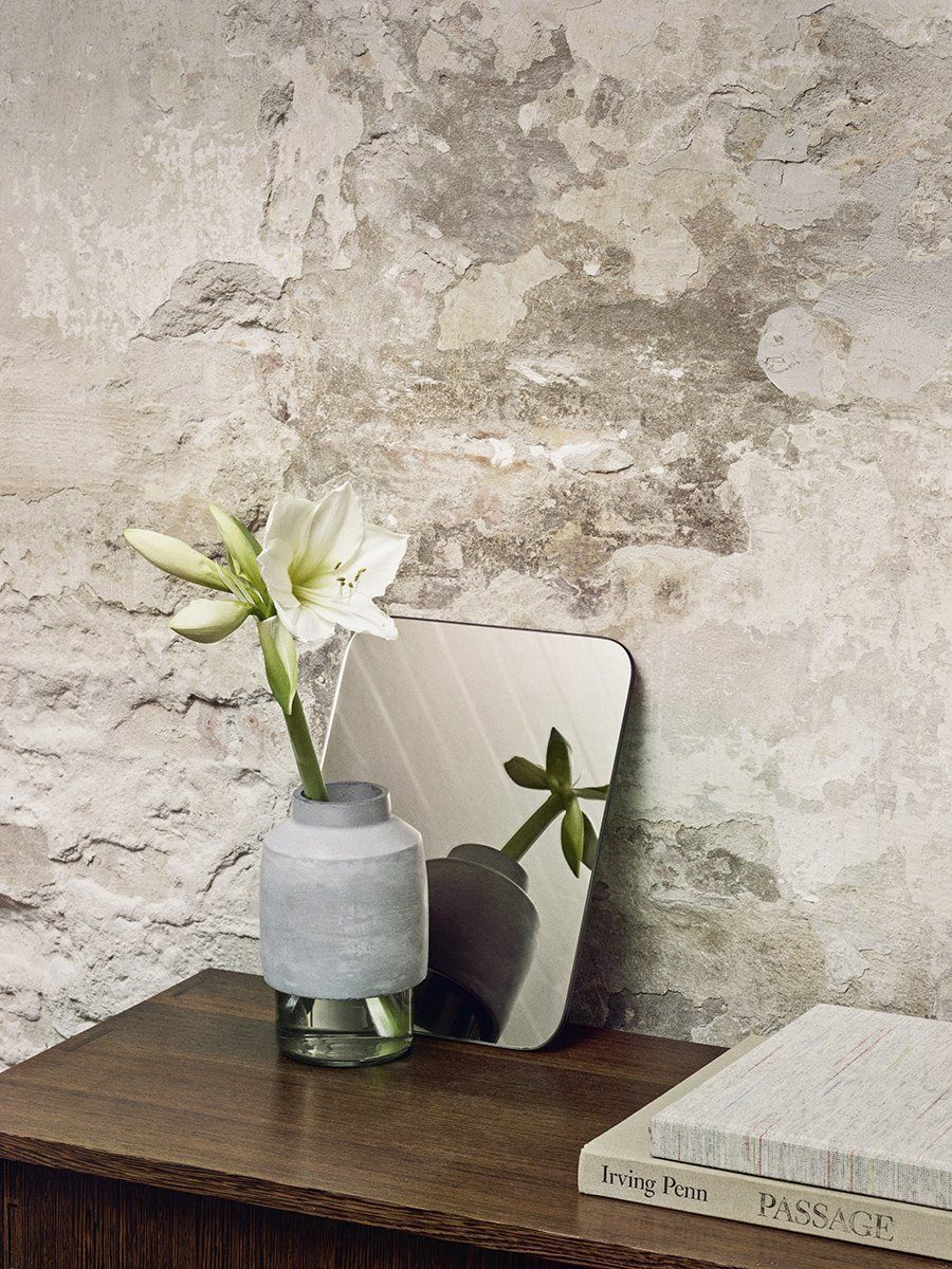 Willmann Concrete + Glass Vase #amaryllisdeko