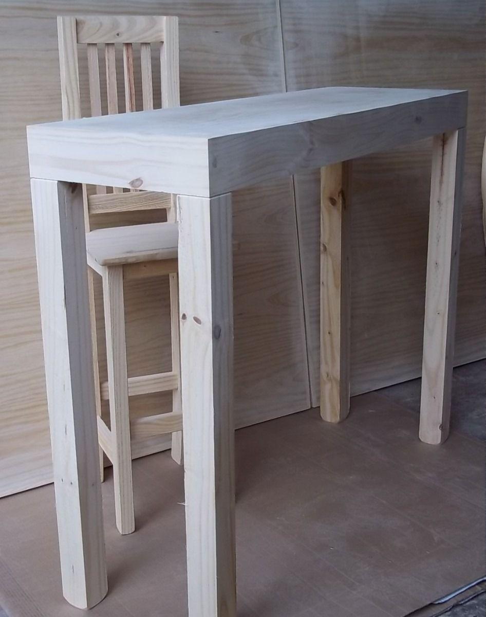 Mesa Arrime Recibidor Desayunador   55000 en MercadoLibre  Ideas para el hogar  Entryway tables Table y Home dcor