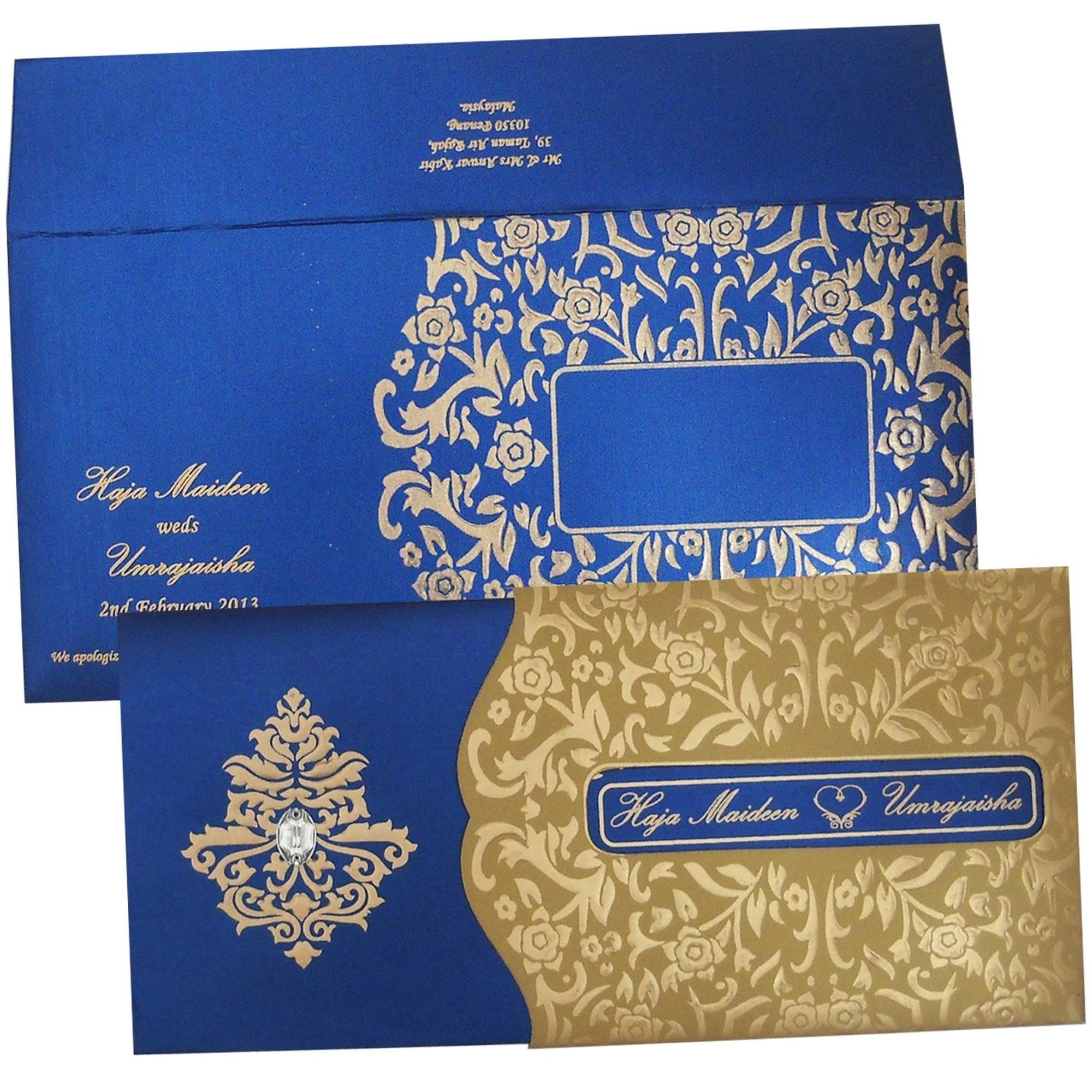 Indian Wedding Invitation Cards Uk