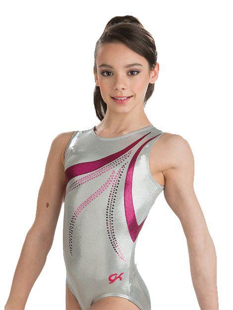 Delicate Sterling Gymnastics Leotard from GK Elite  8acf904641e