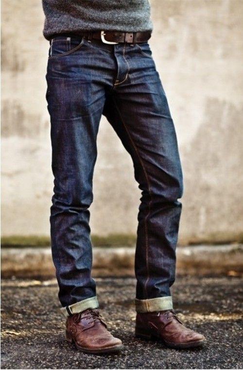 Look de moda  Jersey con cuello circular gris dc2c8bee4ae6c