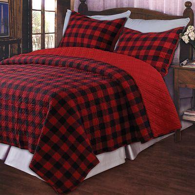 Kohls Buffalo Plaid Comforter Home Plaid Bedding Queen Size
