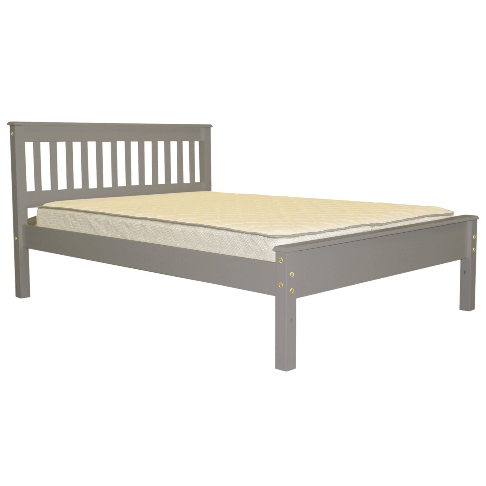 Bedz king full bed gray full gray grey full bed outlet store
