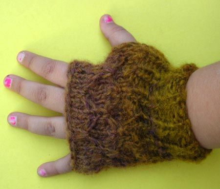 Fingerless Gloves Knitting Pattern For Toddlers : Fingerless Mittens For Kids Knitting Pattern crochet and ...