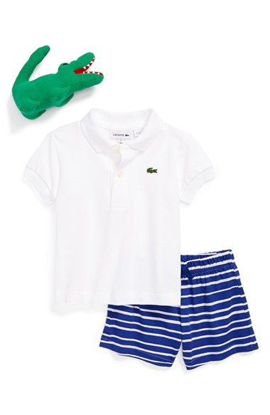 e2fd7fe87 Lacoste Polo   Shorts (Baby) available at  Nordstrom